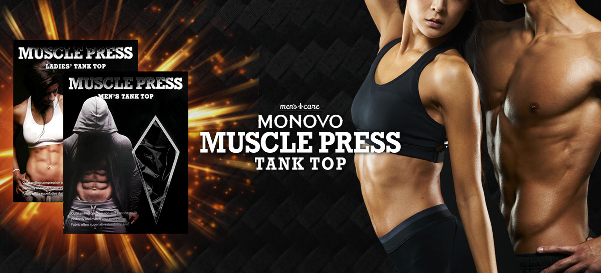 TANKTOP MONOVO MUSLE PRESS